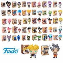 Funko Pop japonais Anime Dragon Ball GOKU doré Frieza troncs végéta SUPER SAIYAN modèle Action et figurine à collectionner poupée en vinyle