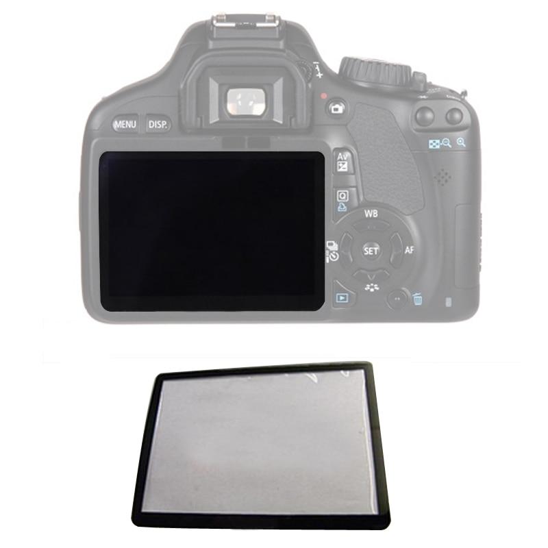 10 Uds exteriores LCD protector de pantalla de piezas de reparación para Canon 5D 5D2 6D 40D 50D 60D 400D 450D 500D 550D 600D 1000D1100D SLR