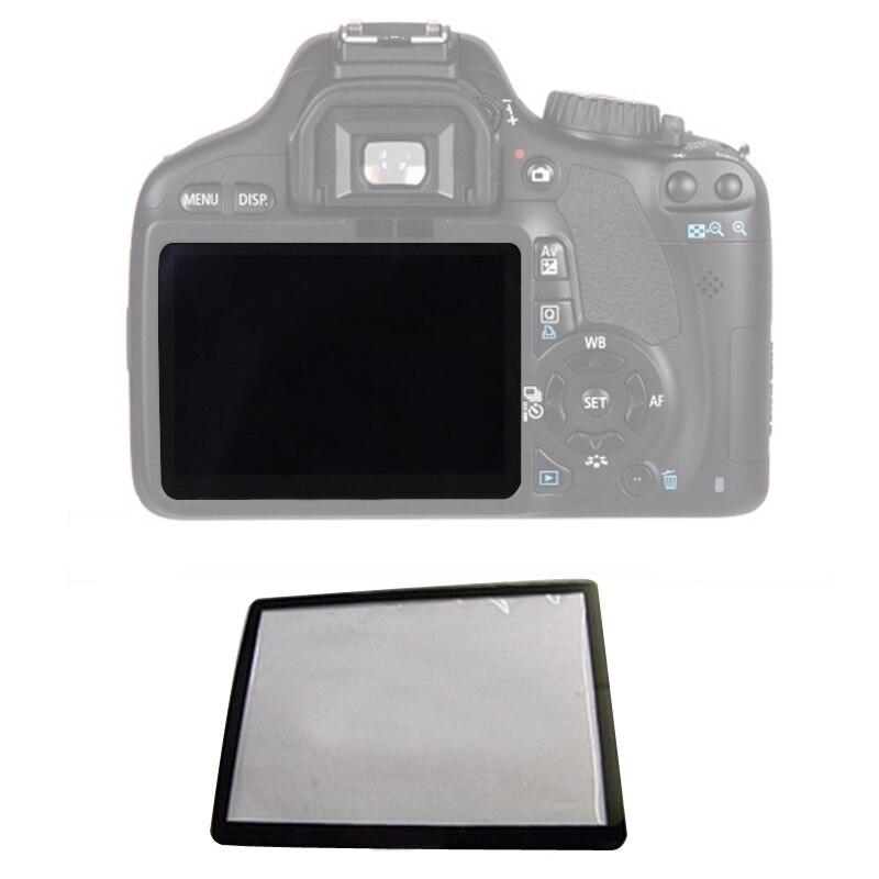 10 stücke Externe Outer LCD Screen Schutzhülle Reparatur teile Für Canon 5D 5D2 6D 40D 50D 60D 400D 450D 500D 550D 600D 1000D1100D SLR