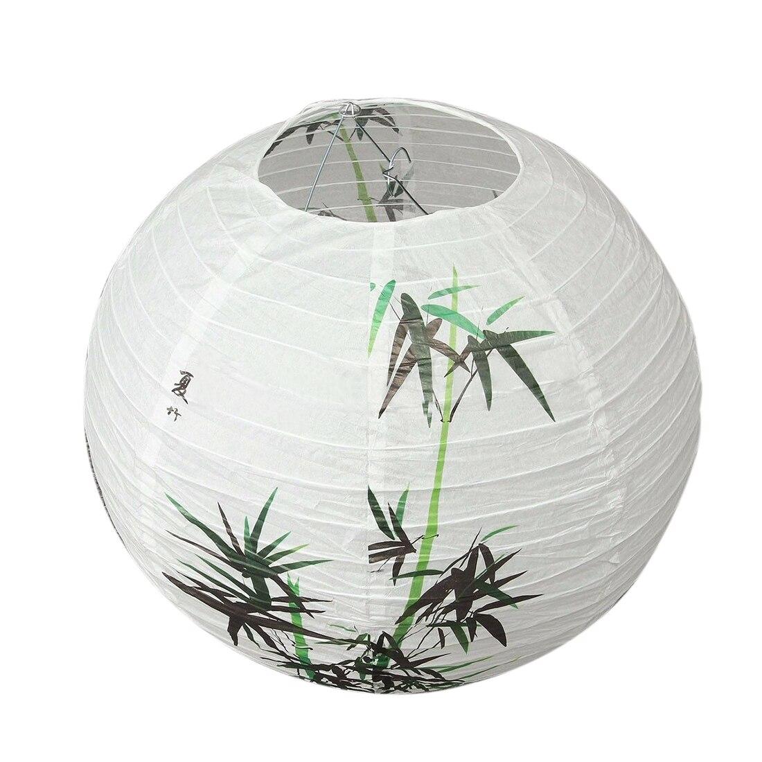 35 см абажур бумажный фонарь освещение в восточном стиле украшение, бамбук