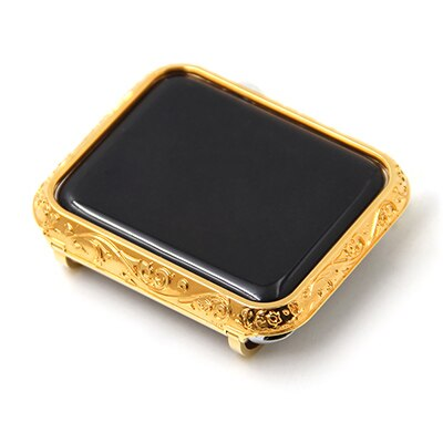 Carving Watch Case For Apple Watch Shell Luxury Casing Cover For Apple Watch Series 1 2 3 Protcitive Case Frame 38mm-42mm enlarge