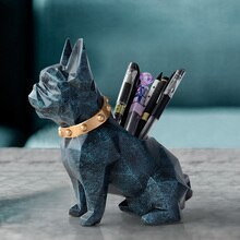 Porte-Figurine en résine   Porte-stylo, organisateur de bureau, accessoires de bureau, porte-crayon de rangement pour stylo de bureau, cadeau artisanal