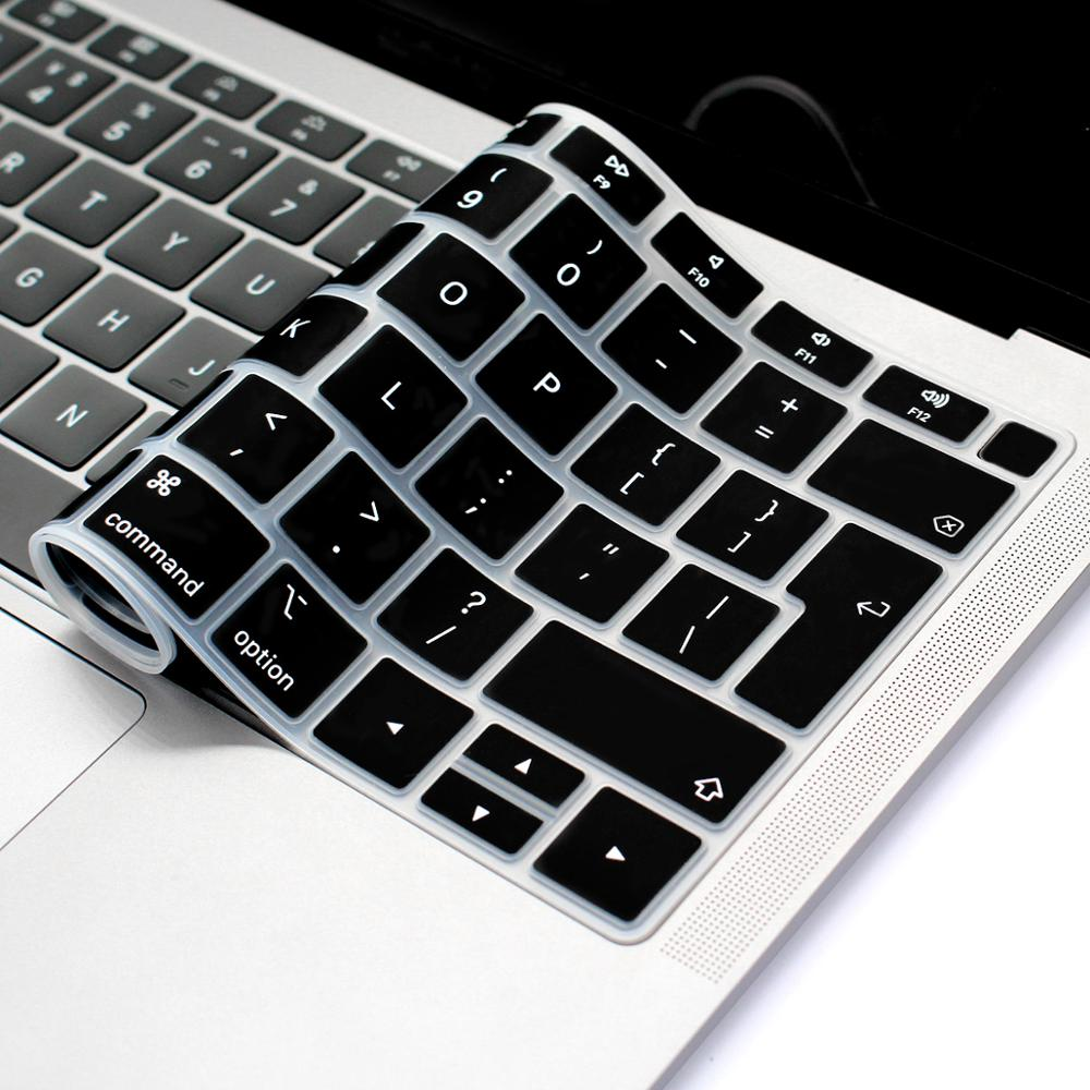 french keyboard protector for macbook retina 12 pro13 eu enter a1708 a1534 a1931 keyboard cover laptop accessories laptop film EU-Enter  Silicone Laptop Keyboard Protective Film For macbook air 13 A1932 Dustproof Notebook Keyboard Cover Film