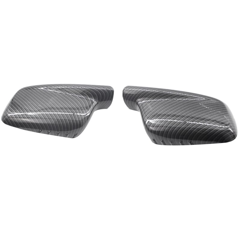 Carbon Fiber New Door Mirror Cover Cap Case 51167074236 51 16 7 074 236 For Bmw 3 7 Series E46 E65 E66 330Ci 745I 750I 750Li 7