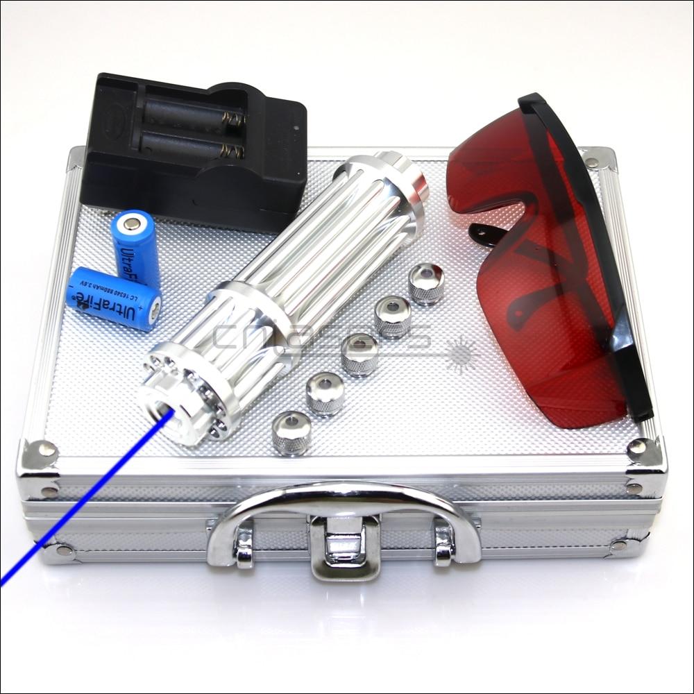Cnislasers bx3 foco ajustável 450nm queima ponteiro laser azul lazer tocha caneta isqueiro acampamento lâmpada de sinal caça
