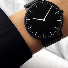 Relógio de quartzo de aço inoxidável reloj feminino 2020 casual vestido relógio de pulso preto relógios de moda reloj mujer malha banda