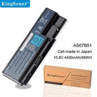 KingSener 6 cells 4400mAh/48WH AS07B51 Laptop Battery For Acer 6930G 8530G 8920G 8940G 5940G 5942G 7530 7540G AS07B41 AS07B42