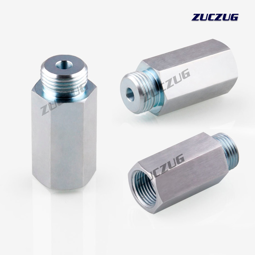 ZUCZUG M18x1.5 Lambda Sensor de oxígeno Bung adaptador extensor espaciador Convertidor para uniones
