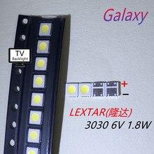 200PCS Lextar GUTE High Power Led-hintergrundbeleuchtung 1,8 W 3030 6 V Kühles weiß 150-187LM PT30W45 V1 TV Anwendung 3030