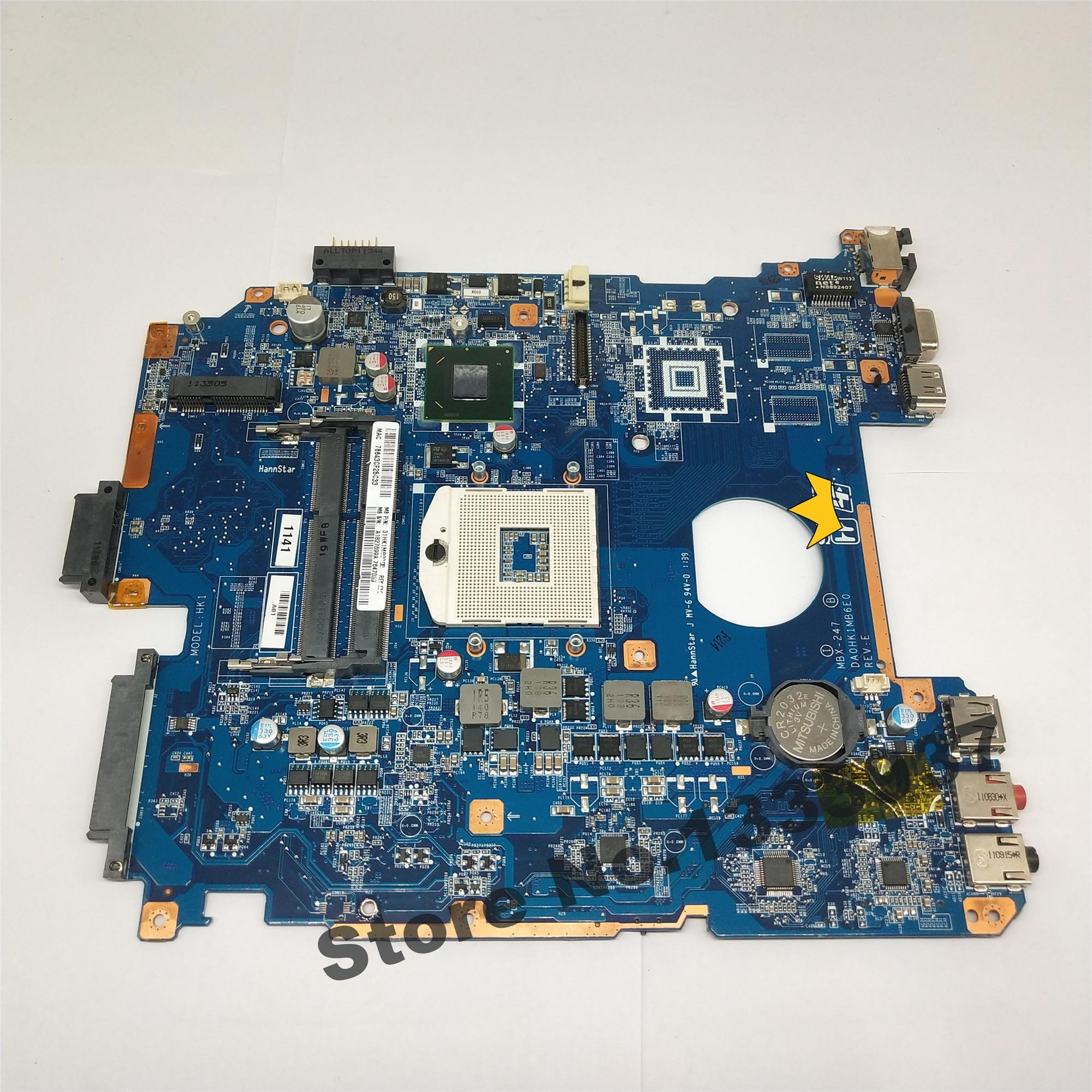 DA0HK1MB6E0 لسوني VPCEH MBX-247 اللوحة المحمول A1827699A اللوحة