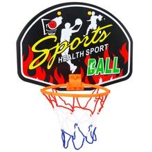 Mini panier de Basket-Ball cerceau Net ensemble avec Basket-Ball pour enfants enfant cadeau intérieur Basket-Ball sport jeu modèle aléatoire