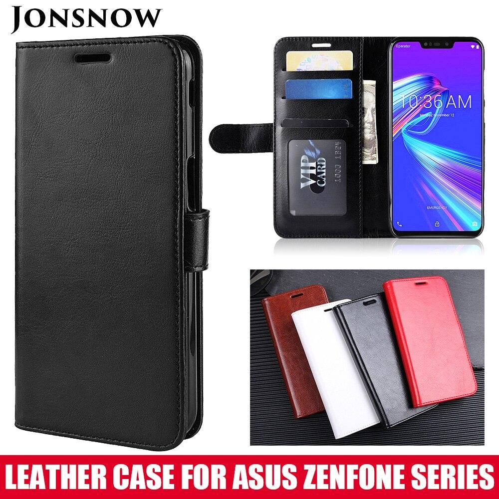 JONSNOW para Asus Zenfone Max M2 ZB633KL cartera funda de piel para Asus ZB602KL ZB555KL ZC520KL ZB631KL de lujo cubierta de cuero de la PU
