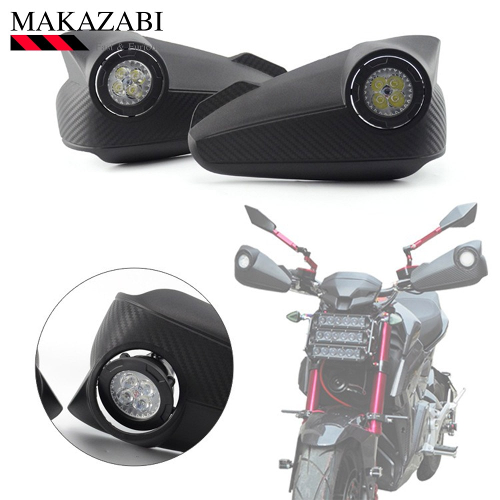 Parabrisas delantero anticaída para motocicleta SUZUKI sv 1000 bandit 1250s dl 650 para YAMAHA yx 125 YZF-R6 fz6s etc.