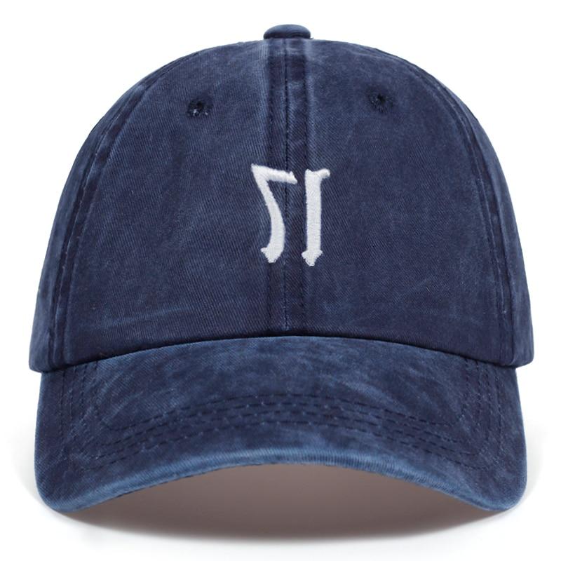 ¡Novedad de 2019! Gorra de béisbol bordada 17 lavada, gorra informal para hombre y mujer, gorra ajustable de algodón para verano con letras Snapback