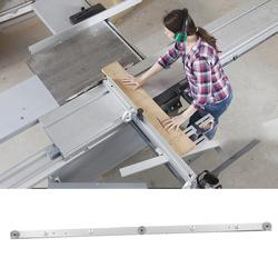 Corrediça linear 650mm liga de alumínio trilho barra mitra slider tabela viu bitola haste mitra gauge geleiderail