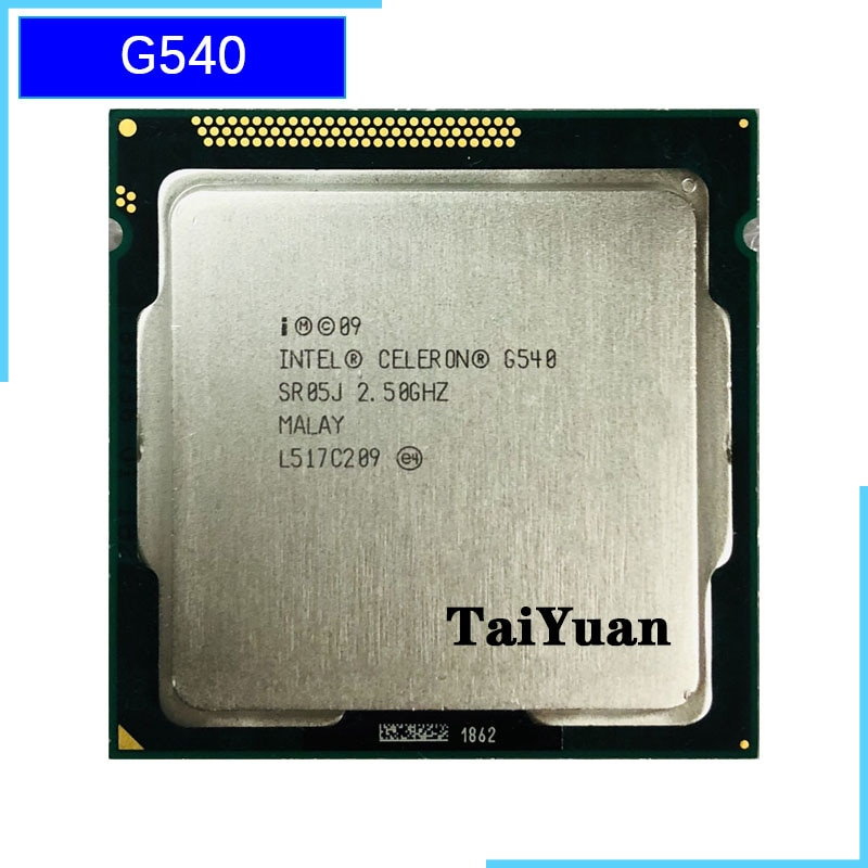 Intel Celeron G540 2,5 GHz Dual-Core CPU procesador 2M 65W LGA 1155