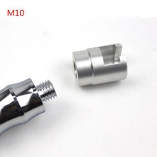 Liga de alumínio do carro reparação dent cabeça extrator paintless dent reparação adaptador parafuso dicas para slide martelo e puxando guia m10 ferramenta