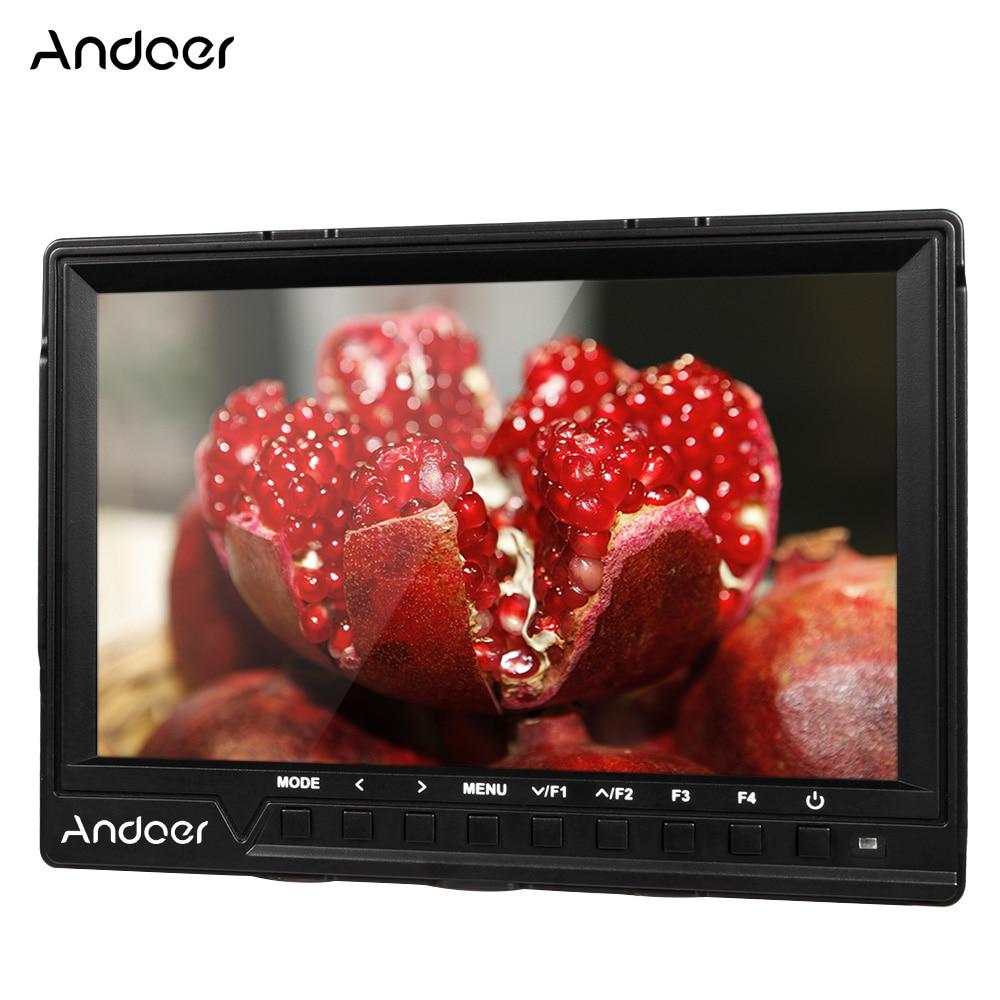 Andoer 7 ''на камере видео камера монитор для Canon Nikon Sony Full HD 1920x1200 IPS полевой с