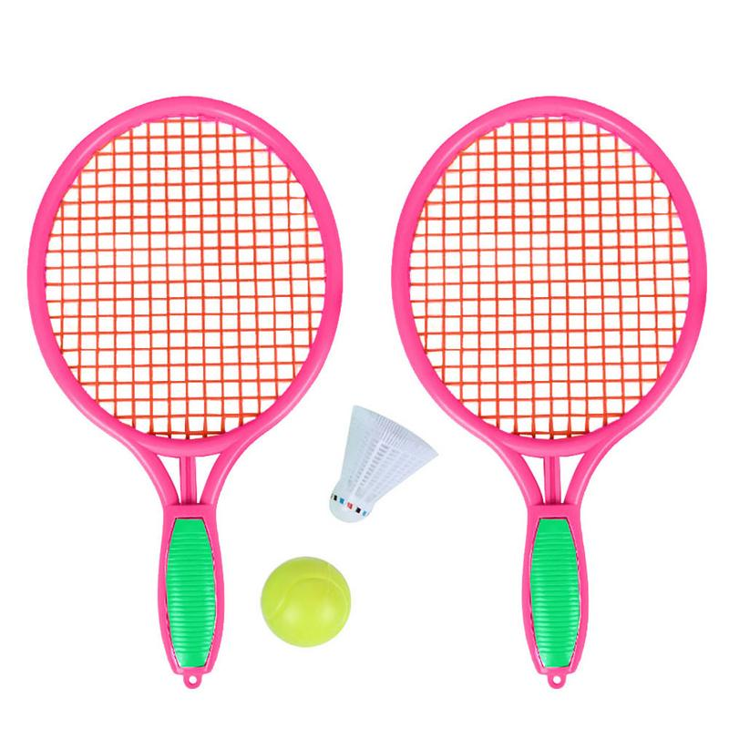 Beach Tennis Racket Children's Outdoor Sports Tennis Racket With Badminton Ball Racket Supplies Tennis Sports High Quality intelligent tennis trainer sensor smart tennis sensor tracker tennis racket motion analyzer padel tenis badminton ios android