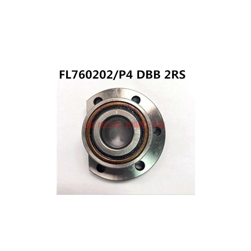 2021 1 قطعة من Fl760202/p4 Dbb 2rs مع مشفه المسمار خاص إقران متكاملة تحمل Cnc الدقة آلة أداة مع Id:15 مللي متر