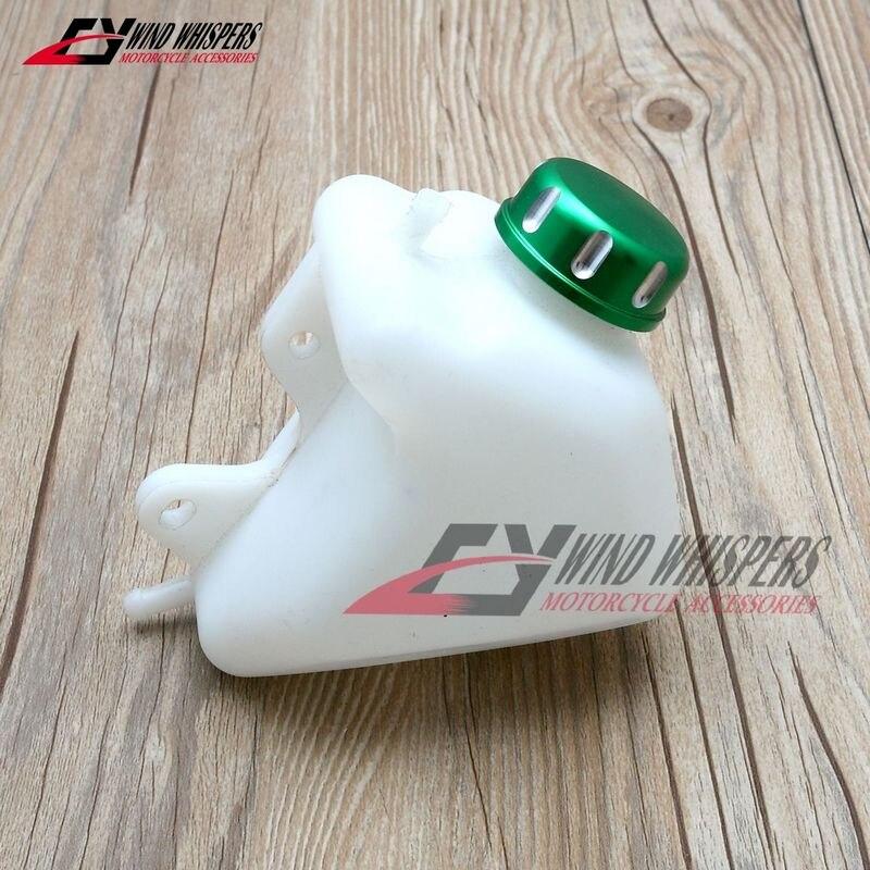 Conjunto de repuesto de plástico para motocicleta, depósito de refrigerante para botella de agua, depósito de radiador, desbordamiento para Kawasaki KLX 250 KLX250 1994-2007