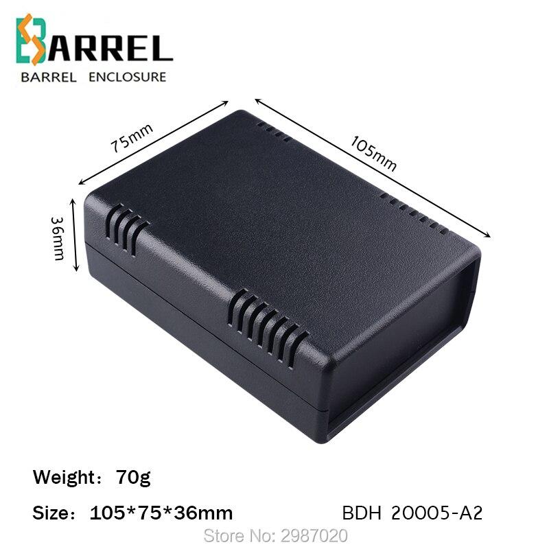 Caja de plástico abs de 105x75x36mm, caja de escritorio diy para distribución de proyectos electrónicos, caja de distribución, salida de tablero PBC