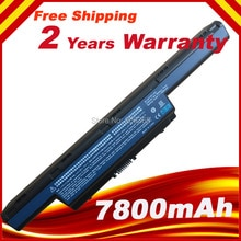 7800mAh Batterie pour Acer Aspire V3-771G 4741 5551 5552 5552G 5551G 5560 5560G 5733 5741 AS10D31, AS10D51, AS10D61, AS10D71 AS10D75