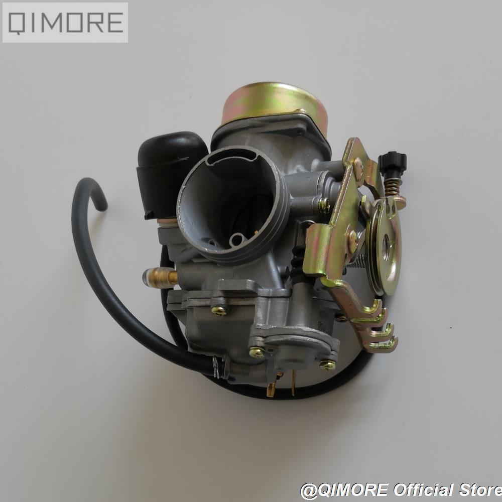 Carburador extraíble tipo CVK30 con calentador para AN250 Skywave / Burgman Linhai Aeolus VOG 260 300 tanque 260 YP250 XINGYUE 260