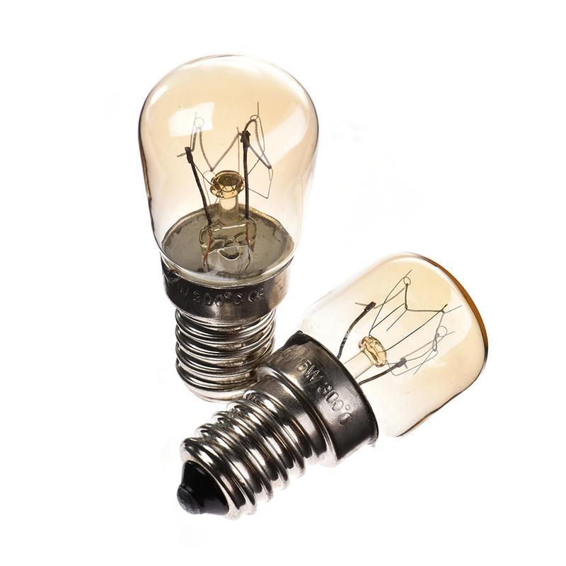 Bombillas de luz de horno de alta temperatura 15 W/25 W 300 grados E14 220 V-240 V lámpara de tungsteno