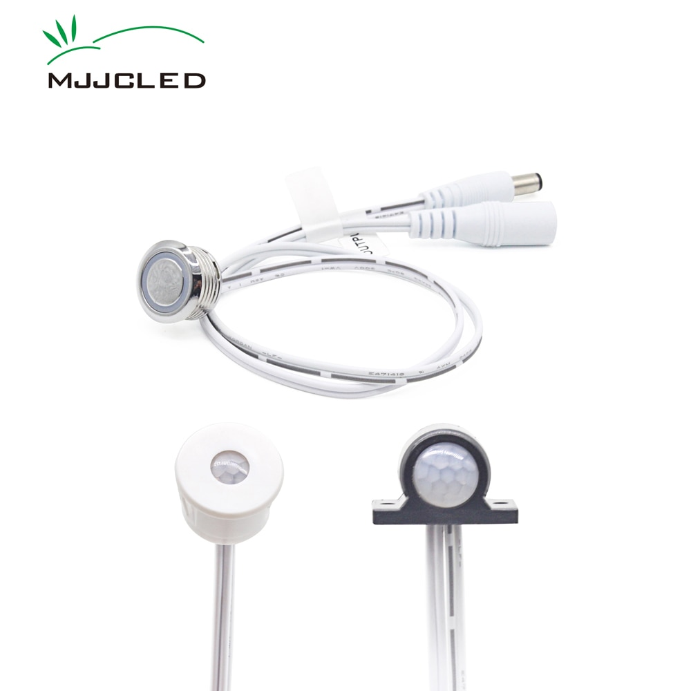 Movement Sensor 12V Motion Sensor Light Switch 24V Touch Sensor Switch  Automatic ON OFF Switch Light Timer Infrared PIR Sensor недорого