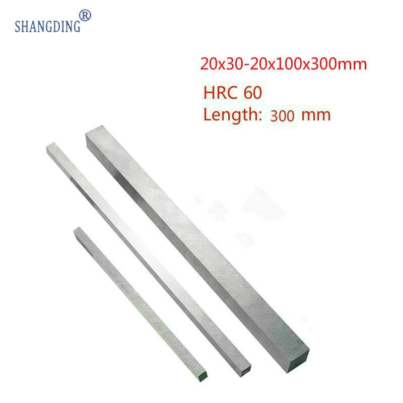 20x30-20x100x300mm الأبيض الصلب سكين شريط عالية سرعة تحول يحتوي HRC60 HSS البيع المباشر آلة أدوات اكسسوارات