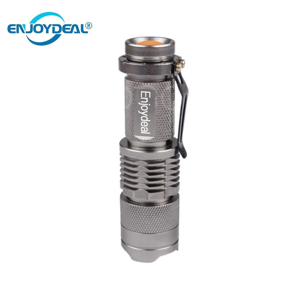 1pcs Ultra Bright LED Flashlight Torch Q5 Mini Skidproof Waterproof LED Flashlight Torch Pocket Ligh