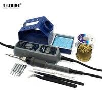 SAIKE 908D Portable Thermostat Soldering iron Heat Electric soldering iron Welding Soldering Adjustable Temperature 220V EU