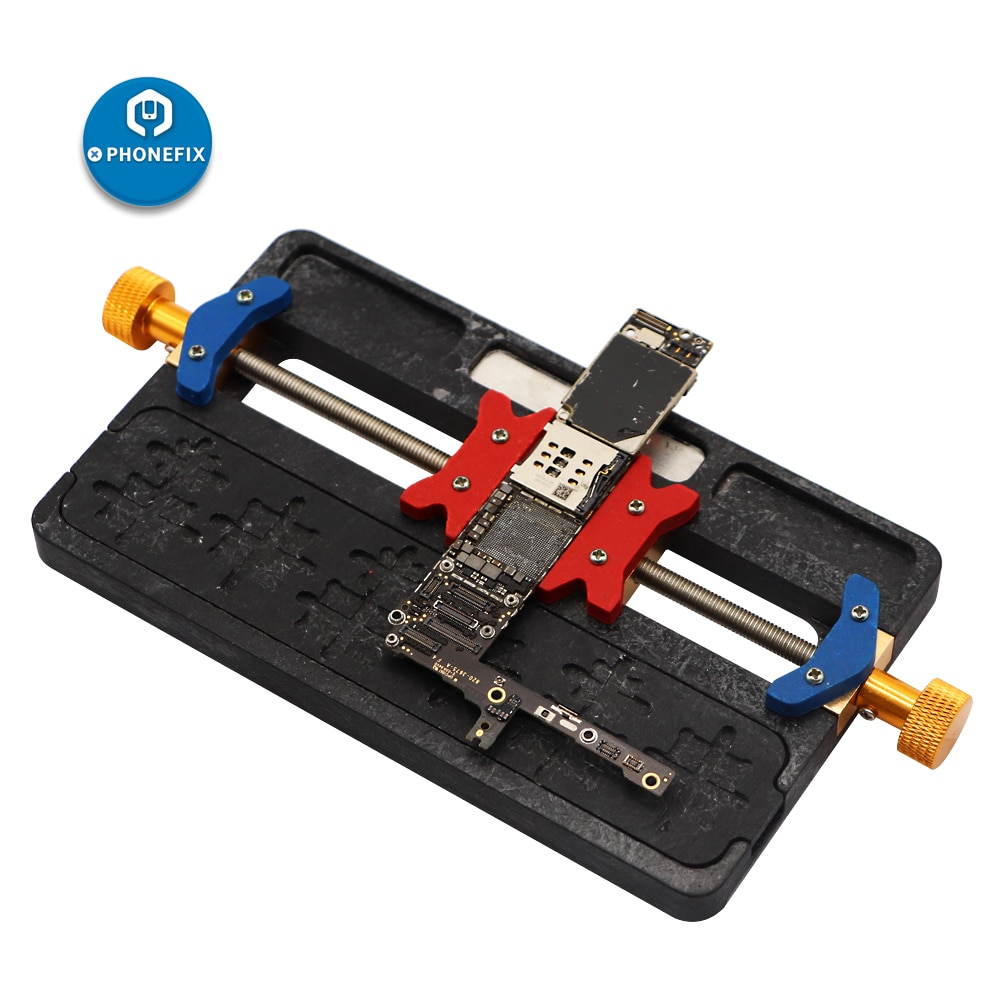Mobile Phone Soldering Repair Tool Motherboard PCB Holder Jig Fixture With IC Location for iPhone Mainboard Repair
