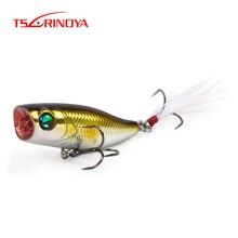 TSURINOYA DW55 40mm 3g  Mini POPPER Lure Hard Bait Artificial Baits Top Water Fishing Lures  POPPER