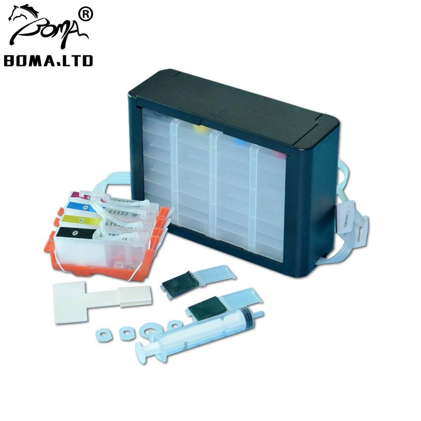 4 Color For HP178 Ciss System For HP 178 XL 3070A 3520 4620 5510 5520 5521 B209A B210A B210B CN216C CN245C Printer With ARC Chip