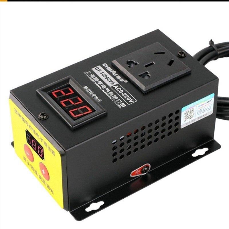 وحدة تحكم عالية الطاقة 10000 وات ، جهد كهربائي ، مروحة ، وحدة تحكم في السرعة متغيرة ، تيار متردد 220 فولت 45 أمبير