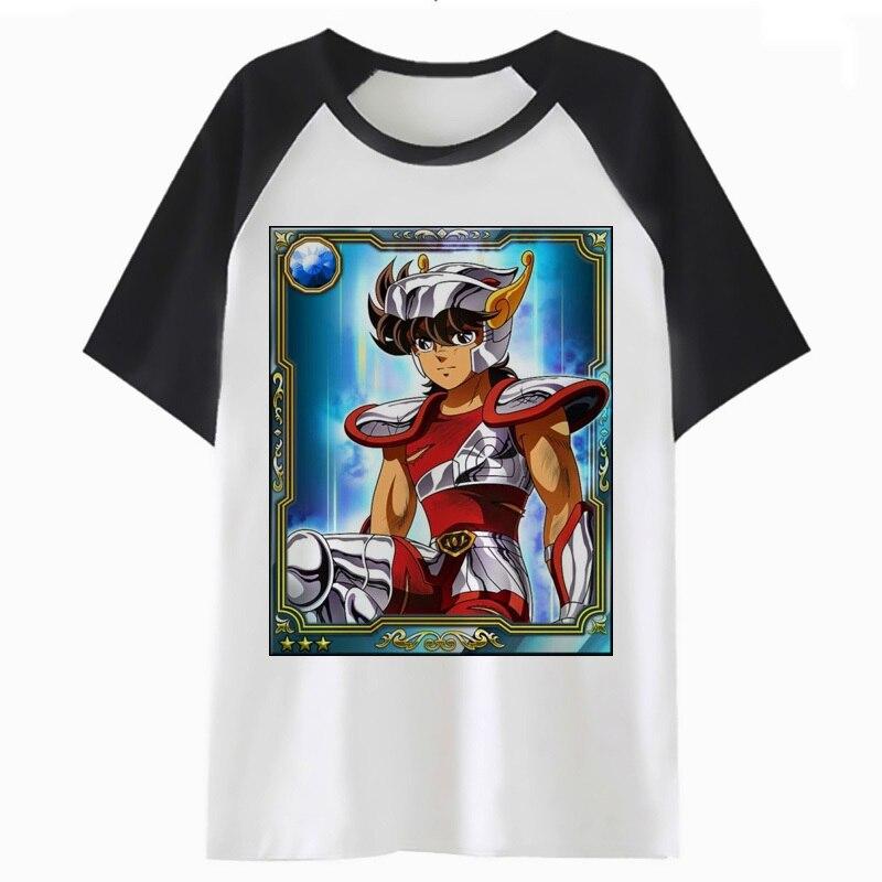 Saint seya t-shirt streetwear top t-shirt hanche pour harajuku homme vêtements t-shirt hommes hop t-shirt drôle H2315