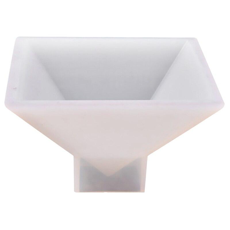 Большая форма пирамиды Diy силиконовая форма для изготовления ювелирных изделий Орнамент Ремесло форма 9.5X9.5X6Cm