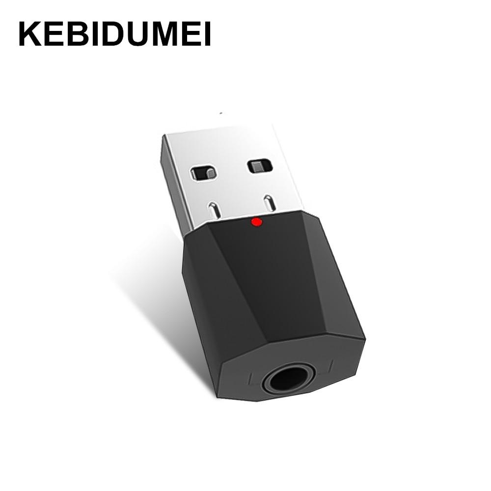 Портативный мини USB беспроводной bluetooth-аудиоприемник с кабелем 3,5 мм, шнур для усилителя, динамика тележки, сабвуфера, автомобильного радио