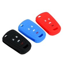 Flip Silicone Key Protect Bag Remote Key Case for Car Auto Accessories Key Shell Cover For Buick Che