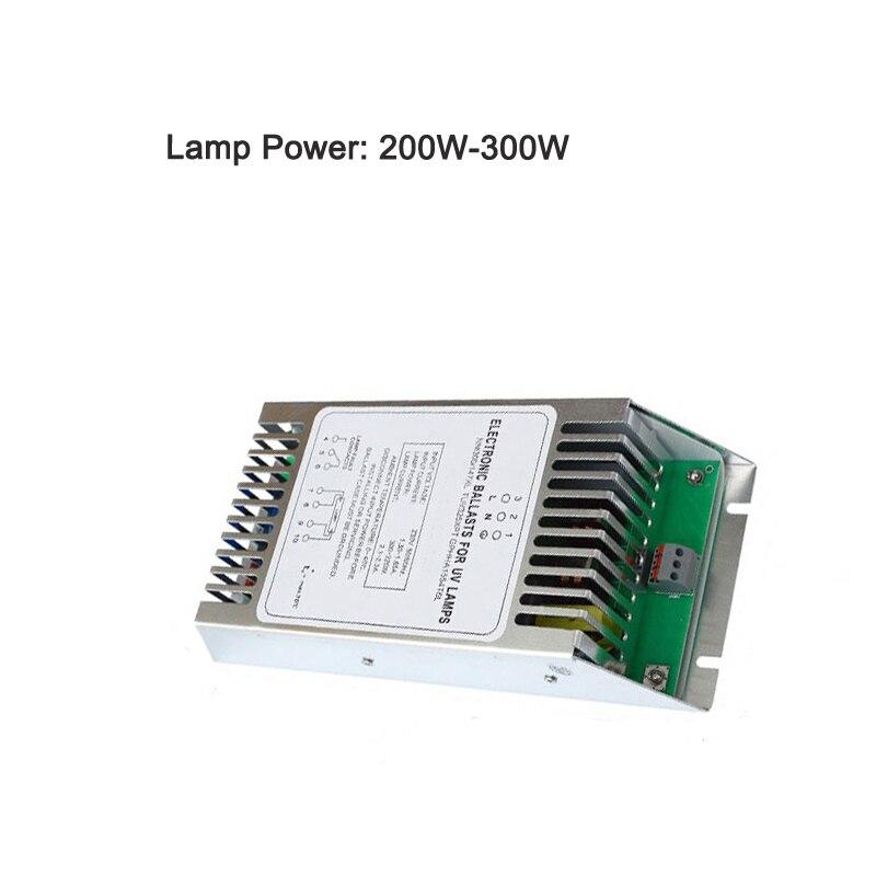 200-320W tratamiento de residuos de Gas fotólisis tubo ultravioleta balasto UV rectificador para lámpara para esterilizadores UV domésticos