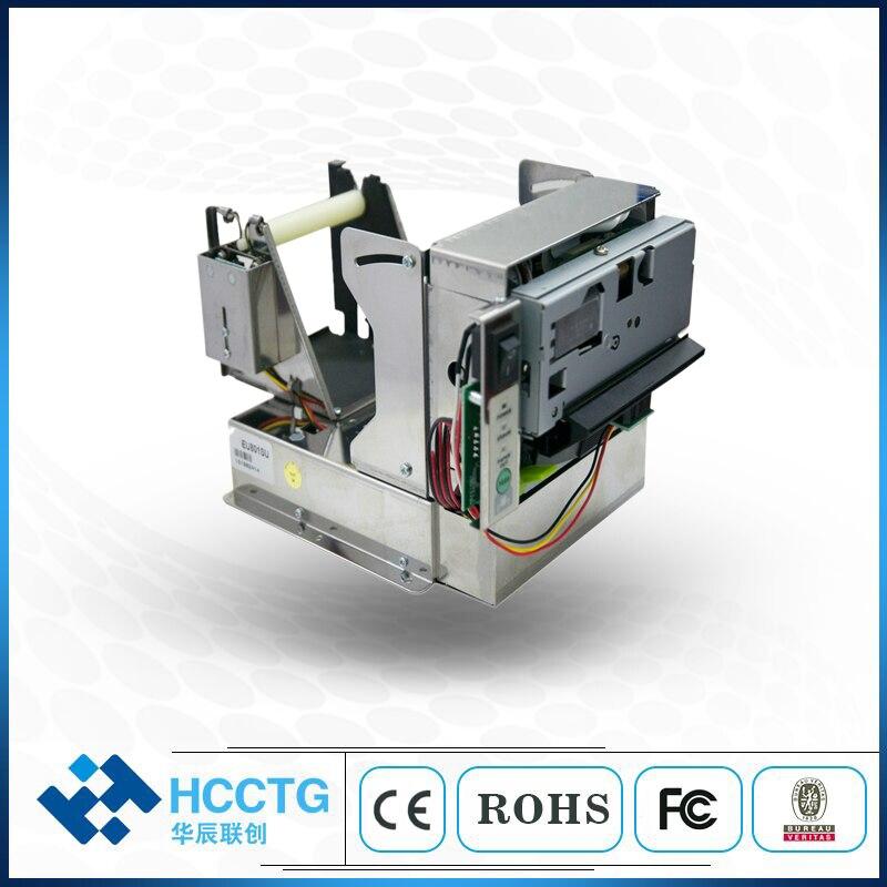 USB + RS232 incluidas 80 MM recibo térmico impresora Kiosk con cortador automático EU80