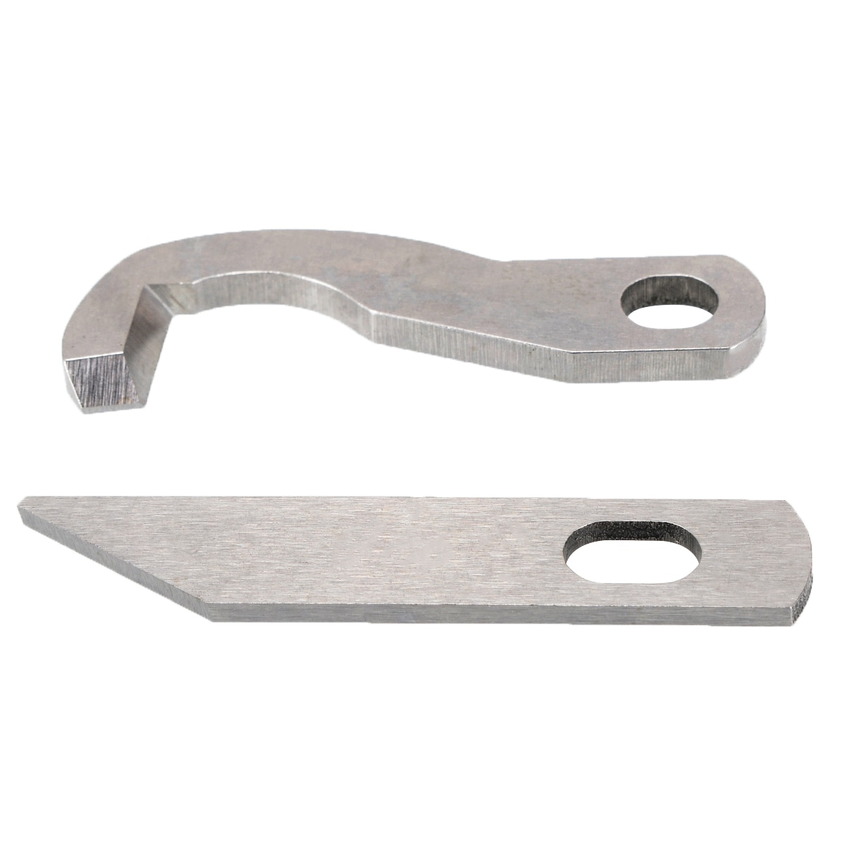 2 unids/set Metal Overlock superior y inferior cortador para hermano 929D 1034D XB0563001 X77683001 DE COSER hoja de la máquina