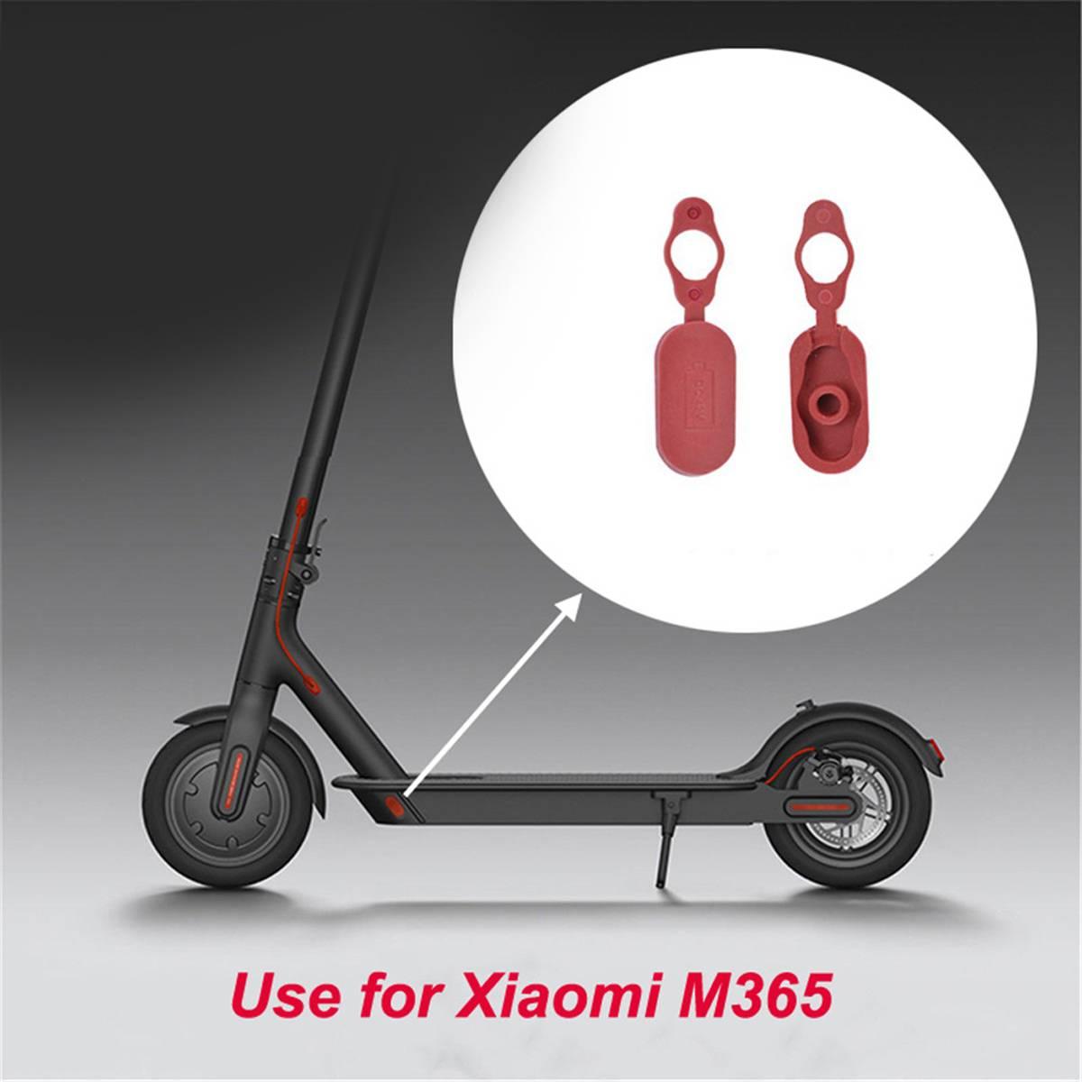 Puerto de carga, enchufe antipolvo, reparación de piezas de repuesto, 1 Uds., accesorios para patinete eléctrico Xiaomi M365, accesorios para patinete