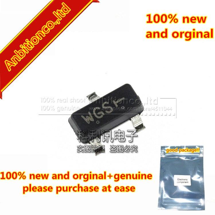 50 piezas 100% nuevo y original BCR116 pantalla de seda WGS SOT23 NPN silicona Transistor Digital en stock