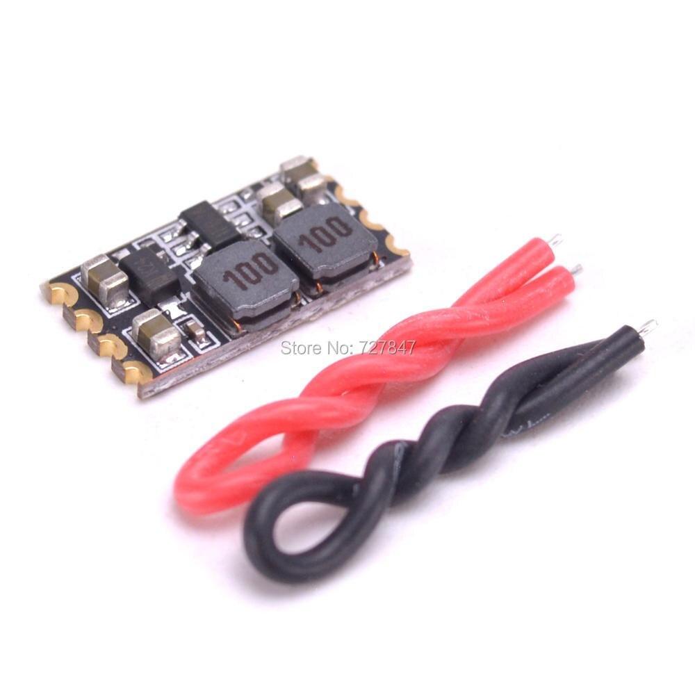 Nuevo módulo reductor Micro BEC de peso ligero 5V Salida 2-5s batería lipo para cuadricóptero FPV 250