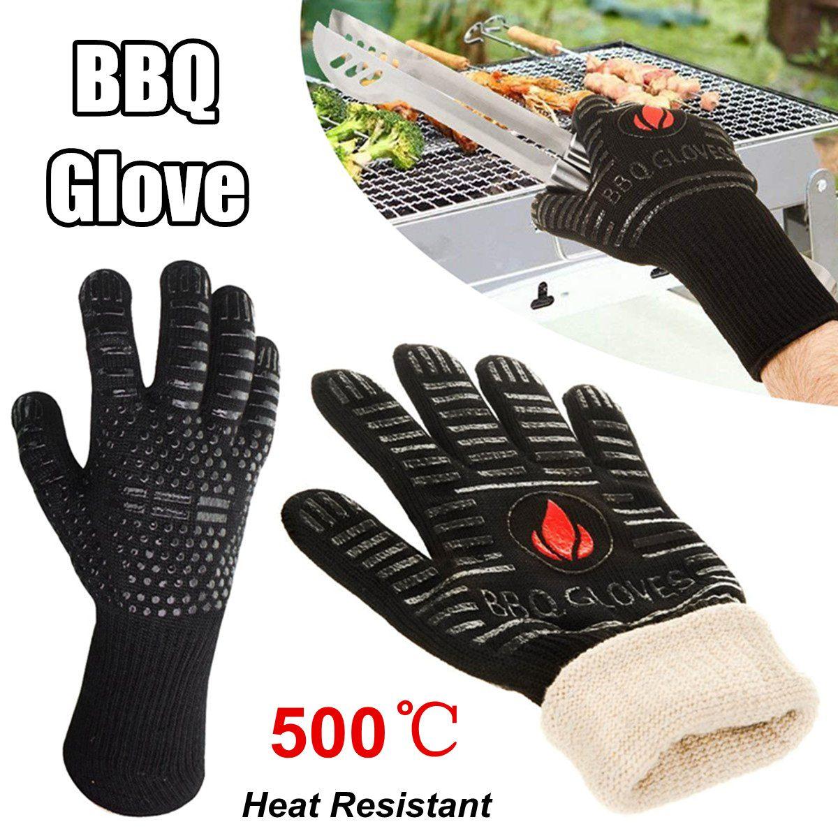 Guante de silicona para horno de 1 uds, guante de cocina resistente al calor, guantes de cocina multiusos para asar y cocinar, guantes para barbacoa