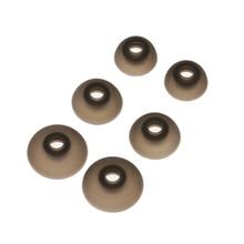 3 pares 6 uds auriculares de silicona en la oreja 3,0mm TWS auriculares almohadillas de Gel cubre puntas S/M/L para auriculares