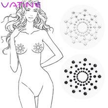 VATINE 1 paire mamelon autocollant mamelon couverture auto-adhésif réutilisable sein pétales jouets sexuels pour Couples femmes adultes produits